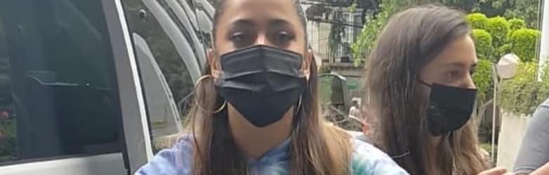 Tini avec des fans à Mexico